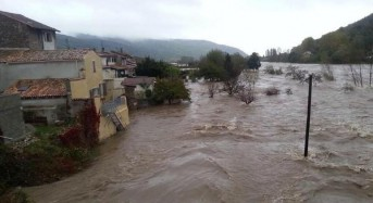 Flooding in France and Italy After 163 Mm of Rain in 24 Hours