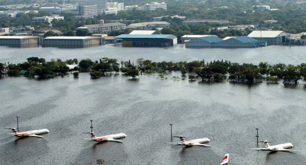 don muang airport flood