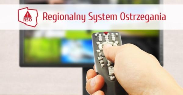 Poland TV warning system