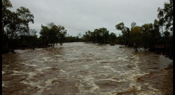 Floods in Central and Eastern Australia – Over 200 mm of Rain in 24 Hours