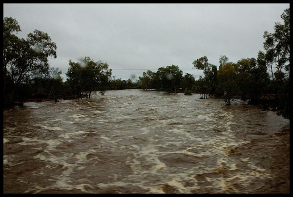 Floods In Central And Eastern Australia Over 200 Mm Of
