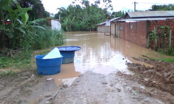 Floods in Cobija, Pando. Photo: Government of Bolivia