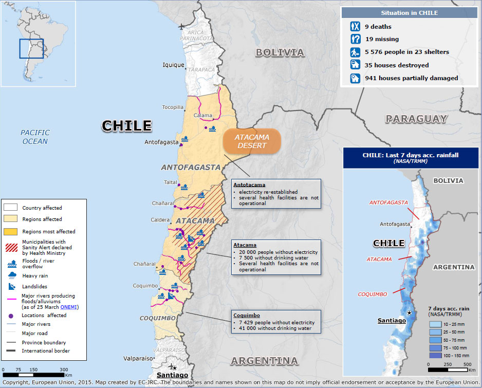 Chile Floods Death Toll Rises as Thousands Remain in Shelters