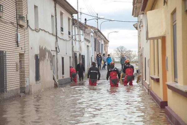 File photo: Flood rescue in Spain. Photo: UME