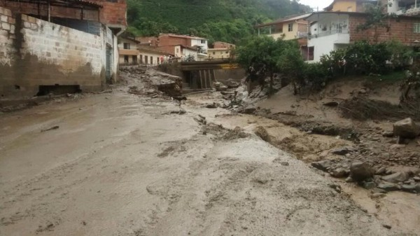 Floods and landslide in Salgar, Colombia. Photo: Gobernador de Antioquia