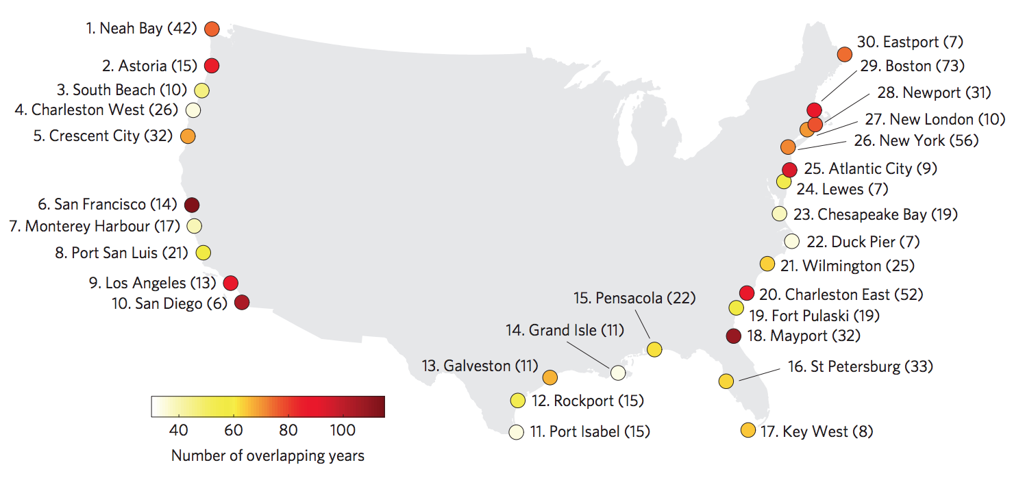 How Storm Surges And Heavy Rainfall Drive Coastal Flood Risk In - Us flood risk map