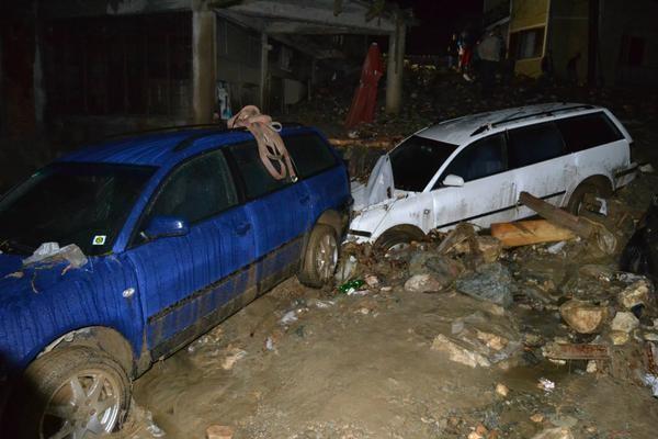 floods in tetovo macedonia