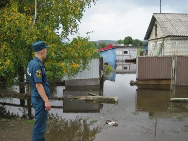 Ussuriysk floods - Photo: EMERCOM