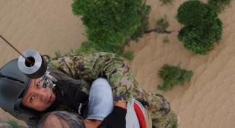 Japan Floods – 7 Dead, 15 Still Missing, 17,000 Homes Flooded