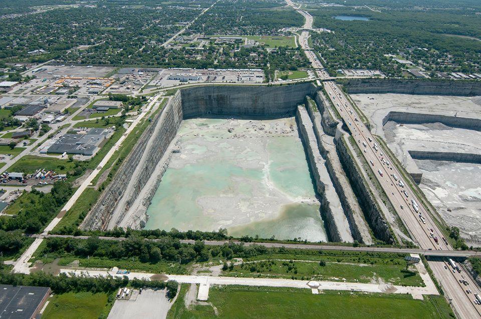 Chicago S Thornton Composite Reservoir Flood Protection