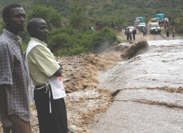 File photo: Floods in Kenya, 2008 . Photo credit: Kenya Red Cross