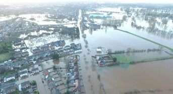 UK – Last Winter's Floods Among Most Extreme in a Century, Says Study