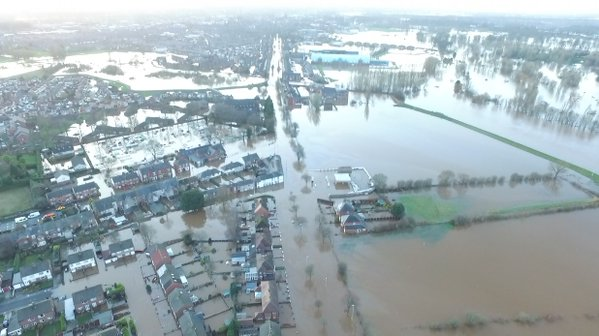 Floods in Cumbria, December 2015