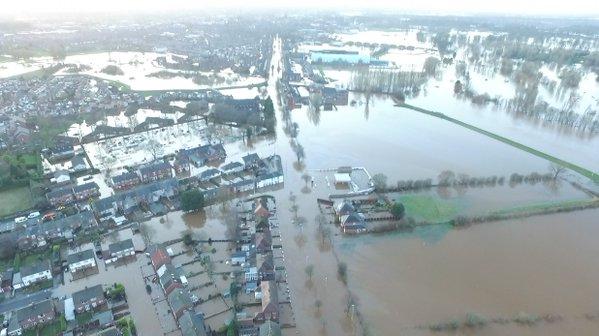 Floods in Cumbria, December 2015