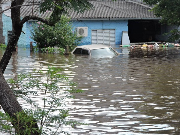 Floods in Quaraí and Uruguaiana municipalities in the Brazilian state of Rio Grande do Sul, December 2015. Photo: Defesa Civil de Uruguaiana 25/12/2015