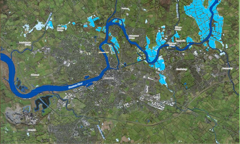 Ireland River Shannon Floods Affect at Least 6 Counties FloodList – Flood Map York Uk