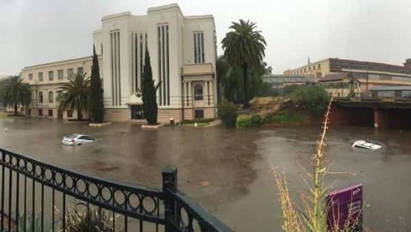 Flash floods in Geelong, Victoria, Australia, January 2016. Photo: VICSES