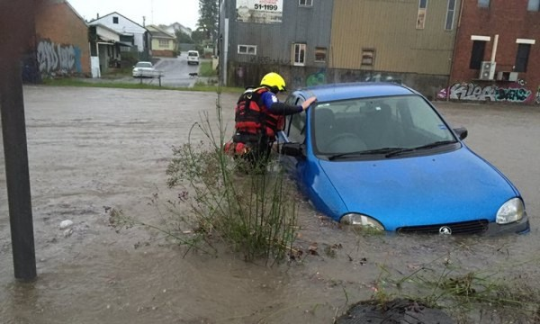 Flood rescue in New South Wales. Photo NSW SES