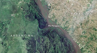 Paraguay River Floods From Space