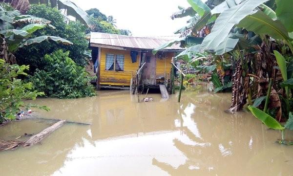 Flood in Sarawak, Malaysia, February 2016. Photo: Bomba Malaysia