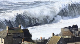 Western Europe Coasts Face a Pounding
