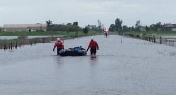 California Storm – Floods Leave 1 Dead, Dozens Evacuated