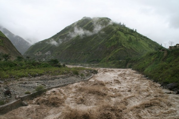 File photo - Floods in Peru. The raging Urubamba River in 2010. Photo: Lydia Boote, under CC BY-NC 2.0
