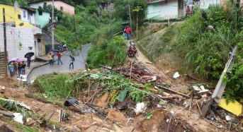 Brazil Floods and Landslides – 1 Dead, 3 Missing in Recife After 235 Mm of Rain in 12 Hours