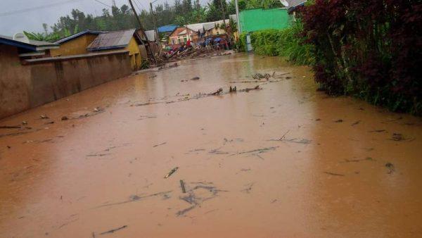 Floods in Gakenke, Rwanda. Photo: Government of Rwanda