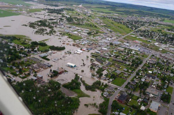 Dawson Creek floods, British Columbia, Canada, June 2016. Photo: City of Dawson Creek