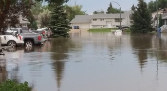 Canada – Damaging Floods in Saskatchewan After 127 mm of Rain in 3 Hours