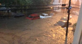 USA – Evacuations After Floods in Maryland and New Jersey
