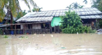 Myanmar – Thousands Displaced by Floods in Rakhine and Sagaing