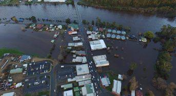 Australia – Evacuations in Tasmania as Huon River Overflows