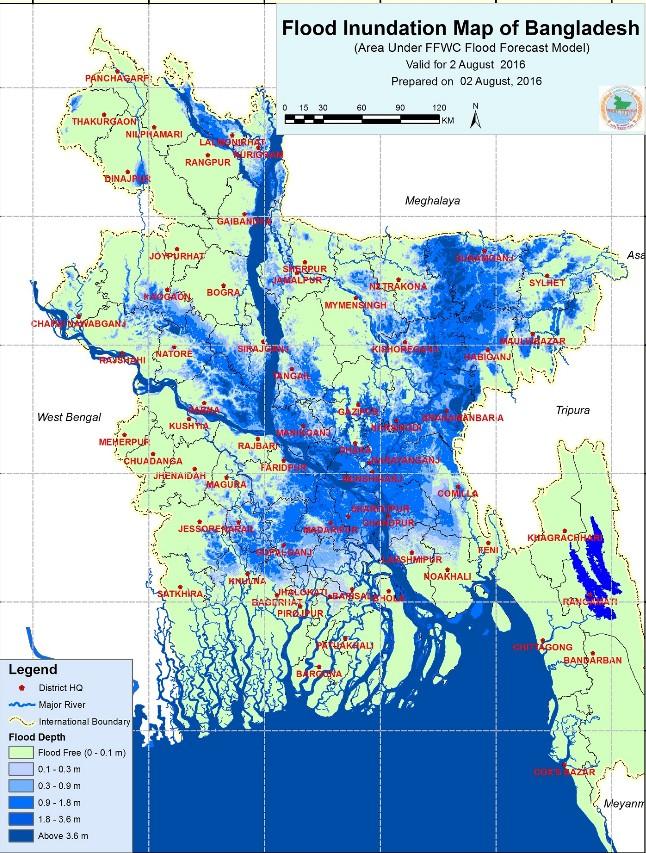 Bangladesh – 42 Dead After Floods in 16 Districts – FloodList