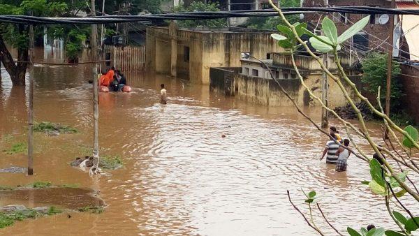 Floods in Valsad, Gujarat, August 2016. Photo: NDRF