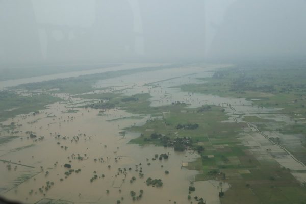 Floods in Uttar Pradesh, August 2016. Photo: India MoD