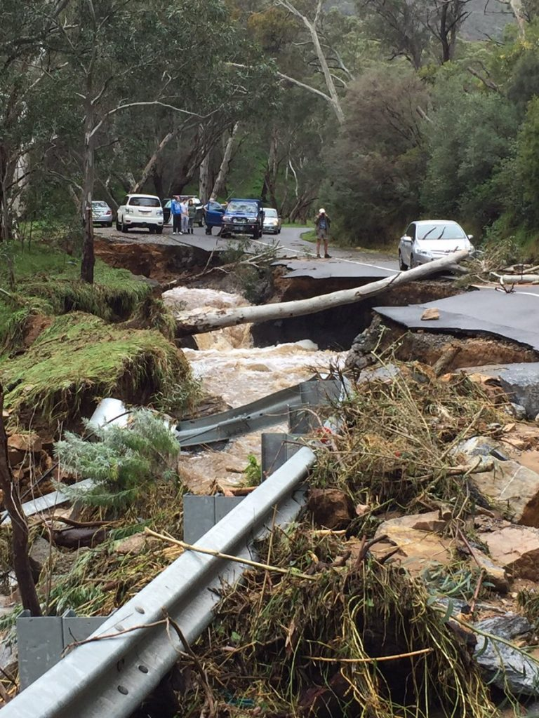 Australia Floods Continue In Victoria And South