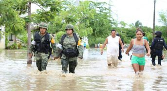 Mexico – Deadly Floods in Chiapas and Guerrero, Hurricane Newton Approaches West Coast