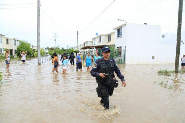 Floods in Guerrero state, Mexico, September 2016. Photo: Protección Civil Guerrero