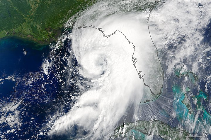 Hurricane Hermine, September 2016. Image: NASA