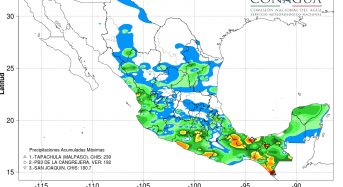 Mexico – Floods in Guerrero and Chiapas Leave 13 Dead