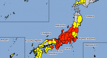 Japan – Typhoon Malakas Causes Severe Flooding