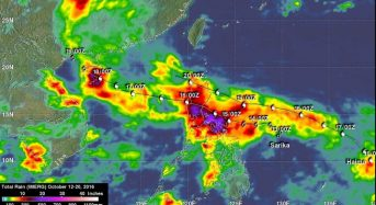 NASA Measures Extreme Rainfall With Typhoons Sarika and Haima