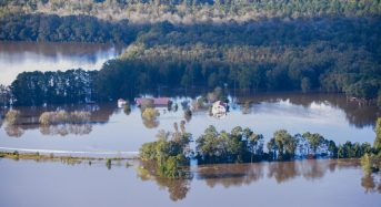 USA – Floods in North Carolina After Rivers Overflow, State of Emergency in Edgecombe County