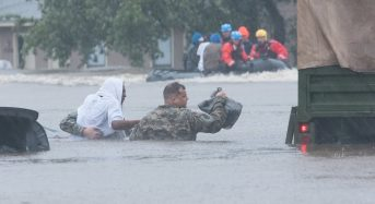 USA – Rain From Storm Matthew Floods North Carolina, Rivers Still Rising, Thousands Stranded