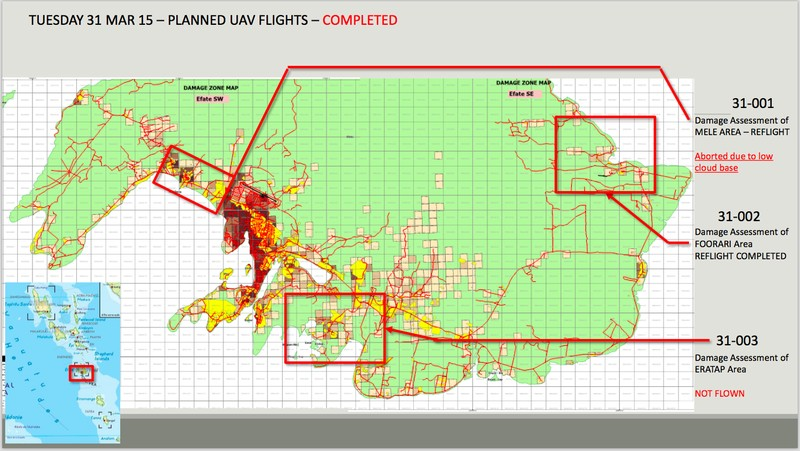 Figure 2: An example of a flight mission submitted to Air Traffic Control for approval and subsequently completed. Credit: Heliwest.