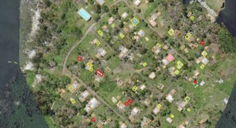 Using Drones to Assess Damage in Vanuatu After Cyclone Pam, 2015