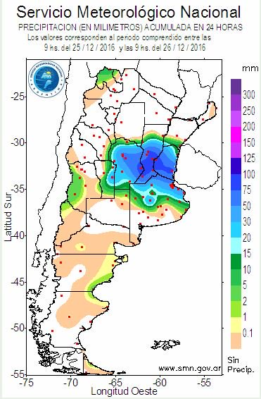 Argentina Floods In Santa Fe And Buenos Aires Force Hundreds To - Argentina rainfall map