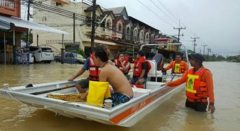 Thailand – More Rain to Come as Floods Leave 43 Dead, 1.6 Million Affected, 500,000 Homes Damaged